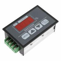 6-60V Digital Display Tachometer DC Motor Slow Start & Stop Speed Controller