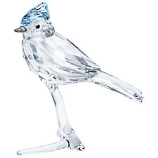 Swarovski Blue Jay on Crystal Branch Figurine Decoration 5470647