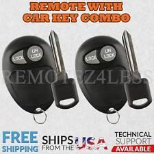 2 for 2001 2002 2003 2004 2005 Pontiac Montana Keyless Entry Remote Fob Car Key