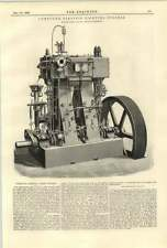 Compuesto de 1890 luz eléctrica motores Robey Lincoln