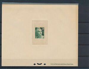 [G42932] France 1945/47 Good Deluxe PROOF sheet Fine/VF Mint