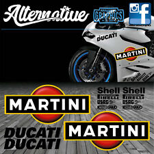 Martini Sticker Decal kit for Ducati 899 959 1299 Panigale 848 1098 1198 749 999