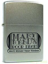 Zippo Mary Reeds Poop Deck Pirates aus 2008  Feuerzeug Neu 1220162