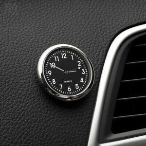 Pocket Mini Quartz Analog Watch Stick-On Clock Fits For Car Boat Bike Motorcycle
