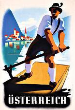 Osterreich Travel Poster Print
