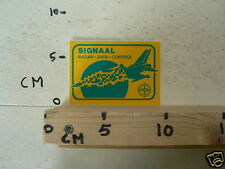 STICKER,DECAL SIGNAAL RADAR DATA CONTROL AIRPLANE FIGHTER