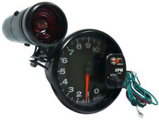TACHOMETER BLACK WITH RACING SHIFTLIGHT - 12,7cm