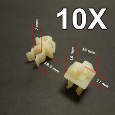 10X Bonnet Support Rod, Bonnet Stay Retainer Clips for Toyota, Honda
