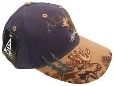 Alaskan Tundra Moose Ball Cap Hat Adult OSFA