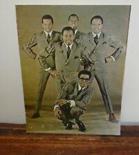 The Temptations 1967 Motown Concert Program