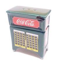 Vintage Coca Cola Salt & Pepper Shakers 2 Pieces Vintage Coke Machine
