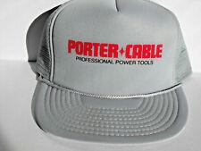 Porter Cable Professional Power Tools Mesh Snapback Hat Cap Trucker Farmer