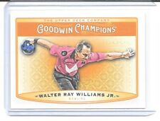2019 UD Goodwin Champions Base #82 Walter Ray Williams Jr.