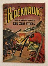 Quality Comics 1952 Golden Age Blackhawk #58 King Cobra Jet Cover Deal!