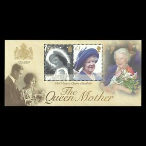 BIOT 2002 - Death of the Queen Mother Elizabeth Royalty S/S - Sc 247 MNH