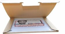*NEU* 50 St. Premium Versandkartons für 1 LP/Maxi 12 Zoll Vinyl 325x325x4 mm