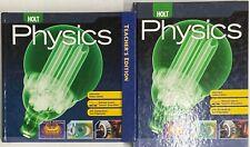Holt Physics Student Teacher Edition Bundle Homeschool High School