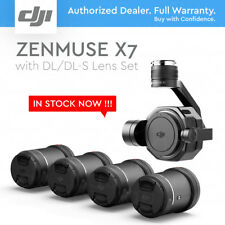 DJI Zenmuse X7 Camera and 3-Axis Gimbal + DL-S 16mm DL 24mm, 35mm, 50mm Lens Set