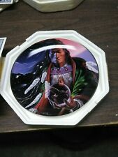 """ Sky Spirit "" Collector Plate Royal Doulton Ra2519 Charles Frizzell"