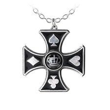 GENUINE Alchemy Gothic Neckalce - Sharp's Cross   Men's Alternative Pendant