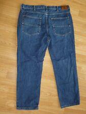 FARAH JEANS W 38 L 30 Blue Straight Leg Denim Zip Fly Pants PE22386 RELAXED