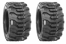 Two 23x850 12 Tiron R4 Fits Kubota John Deere Tires Skid Steer Compact Tractor