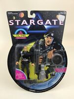"Stargate Col O'Neil 4"" Action Figure w Artifact Sealed Vintage 90s Hasbro 1994"