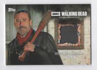 2017 TOPPS Walking Dead Season 6 Jeffrey Dean Morgan NEGAN Pants Relic Card