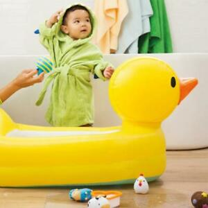 Munchkin Hot Inflatable Safety Duck Bath Tub Foldable Water Fun for 6-24 Months