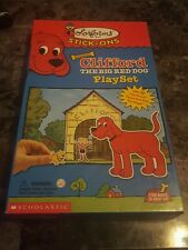 Clifford The Big Red Dog PlaySet Colorforms 70230 Rare