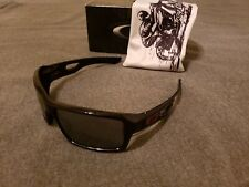 Oakley Eyepatch 2 Troy Lee Polished Black/Black Iridium Sunglasses Very Rare