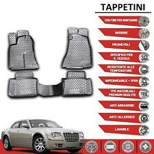 Ruvido Tappetini Tappetini in gomma 8er Set Chrysler 300c BJ 01//04-12//12