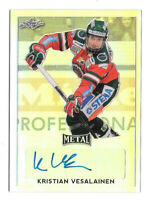 2016-17 Kristian Vesalainen Leaf Metal Rookie Auto - Winnipeg Jets