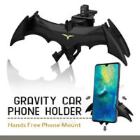 Gravity Car Vent Bat Mount Auto Mobile Phone Cool 360° Stand Holder Universal-