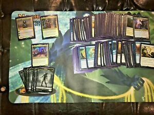 Commander 2018 Subjective Reality 100 card Deck- Opened & Sleeved. Magic MTG C18