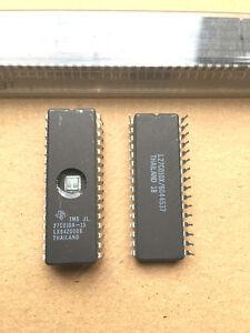 11 Stück (UV) Eprom TMS27C010A-15JL Texas Instruments  WDIP32 Fenster IC