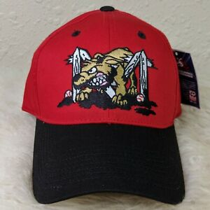 OC SPORTS Batavia Muckdogs MiLB Logo Hat Snapback Cap Size S/M Red NEW