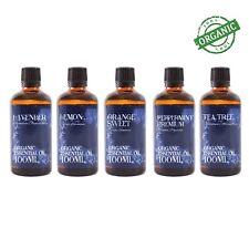 Organic Essential Oil Starter Pack - Favourites (5 x 100ml) (SP100EOORGAFAVO)