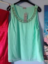 Turquoise Top Size 10 - Not - Jane Norman