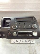 2006 2007 2008 2009 2010 2011 Honda Civic Radio Cd Player MP3/AUX #A116