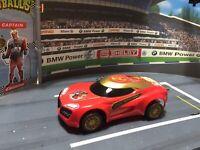 SCALEXTRIC Slot Racing Car 1/32 CUSTOM AVENGERS IRONMAN CAR TONY STARK RED RACER