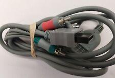 HD TV Component RCA Audio Video AV Cable Cord Plug Nintendo Wii U Wii FREE S/H
