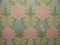 The Chateau Angel Strawbridge The Lily Garden Eau De Nil Fabric Curtains Cushion