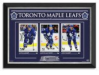 Auston Matthews Mitch Marner John Tavares Toronto Maple Leafs Museum Framed /99