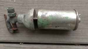 Small Antique Steam Whistle Unmarked Brass Old Warning Signal As-Is Hardware Fun