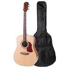 """41"""" Kalos Mahogany Acoustic Dreadnought Guitar"""