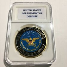 United States Department Of Defense US Pentagon Challenge Coin 40mm with Case
