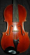 Alte 4/4 Geige, old violin, Bourguignon Maurice 1917