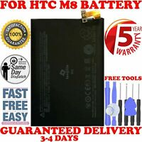 New Battery for HTC One M8 E8 W8 3.8V 2600mAh B0P6B100 With Tools US