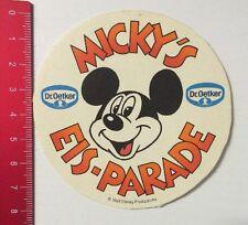Aufkleber/Sticker: Walt Disney Dr. Oetker - Micky's Eis-Parade (010516107)